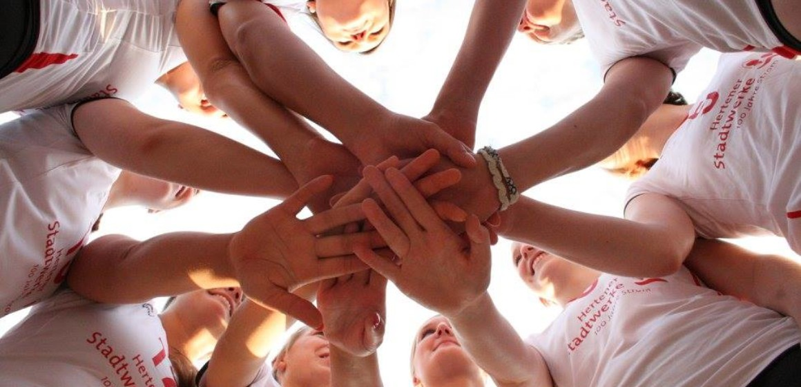 Team #2 des TuS Herten Volleyball